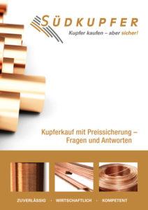 Broschürencover Südkupfer: Kupferkauf mit Preissicherung