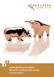 Cover Imagebroschüre Südkupfer – Partner rund ums Kupfer